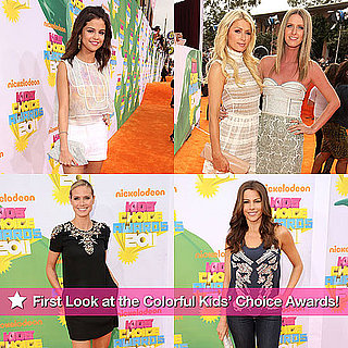 Pictures From 2011 Kids' Choice Awards Orange Carpet
