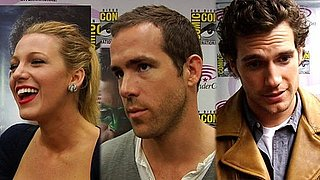 Video: Ryan Reynolds, Blake Lively, and Superman Henry Cavill at 2011 WonderCon