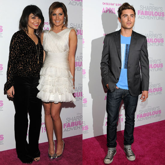 Pictures of Zac Efron and Vanessa Hudgens at Event With Ashley Tisdale