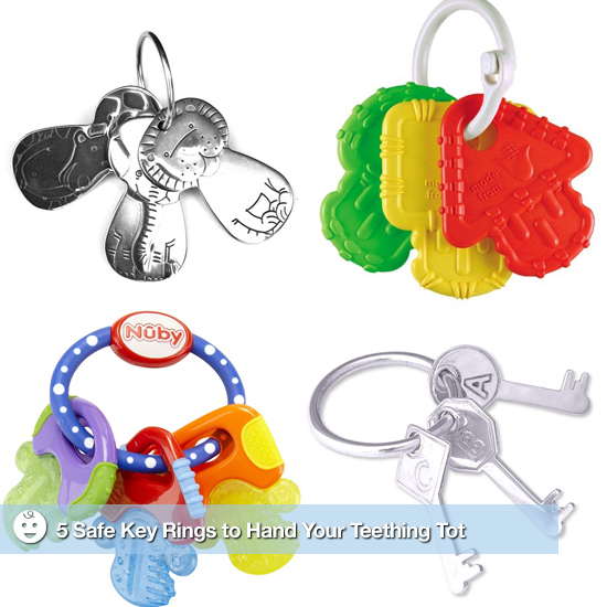 Eco-Safe Teething Rings For Babies