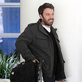 Pictures of Ben Affleck Landing at LAX