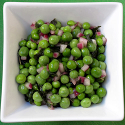 Recipe For Spring Peas With Mint