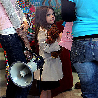 Pictures of Suri Cruise at Dylan's Candy Bar With Tom and Katie
