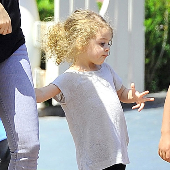 Nicole and Harlow Spend an Adorably Enchanting Day at Disneyland!