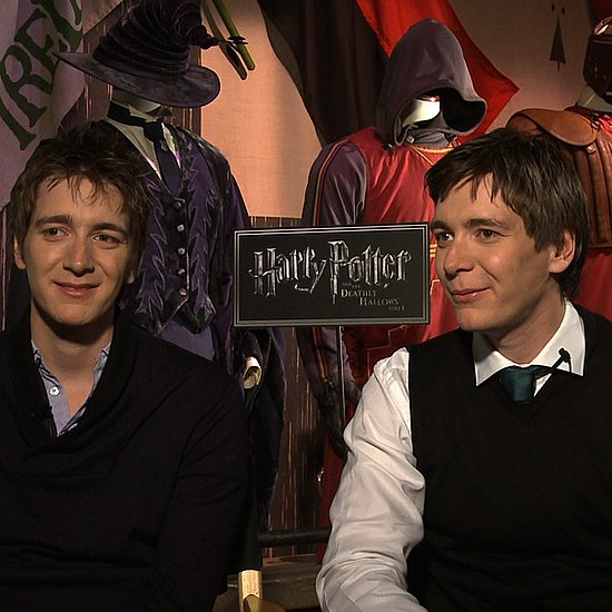 Harry Potter Interview With James and Oliver Phelps 2011-04-15 03:05:00