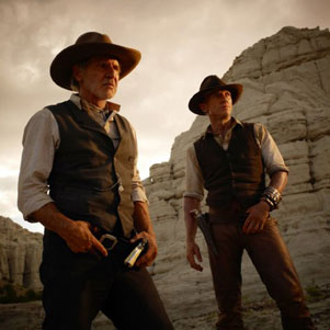 Cowboys and Aliens Trailer Starring Harrison Ford, Daniel Craig and Olivia Wilde