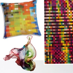 Sugar Shout Out: Go Graphic With Pixelated Furniture and Accessories!