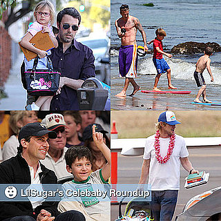 Pictures of Celebrities and Their Babies