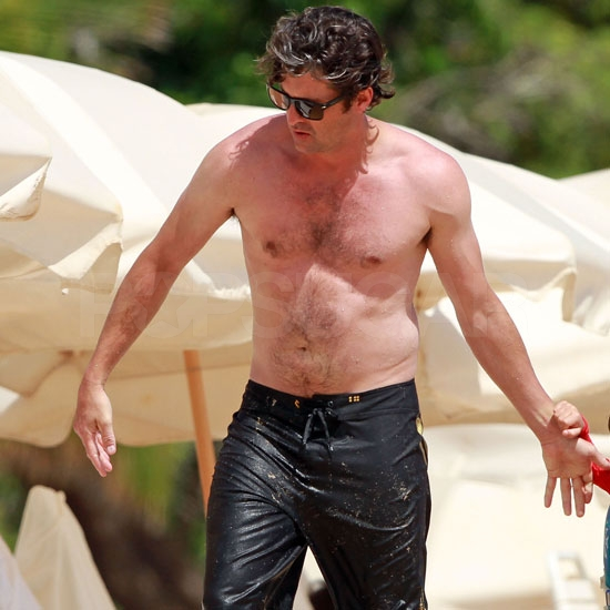 Dreamy Patrick Dempsey Goes Shirtless on His Family Spring Break