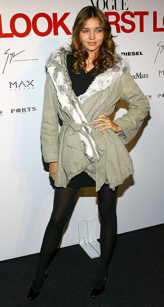 January 2007: Vogue First Look Party in NYC
