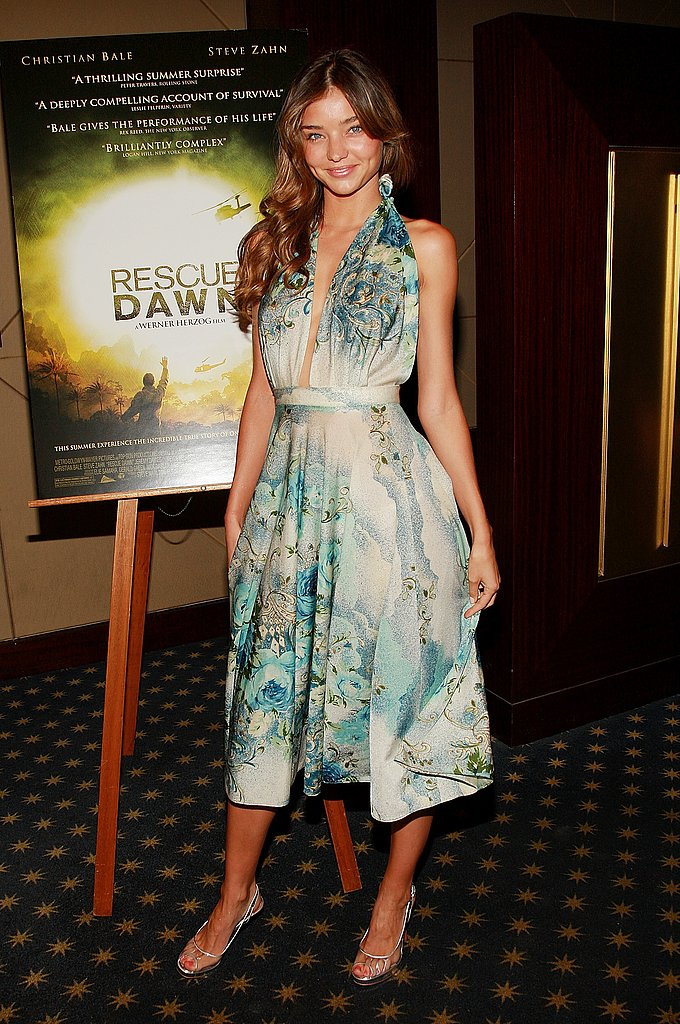 June 2007: Rescue Dawn Premiere in NYC