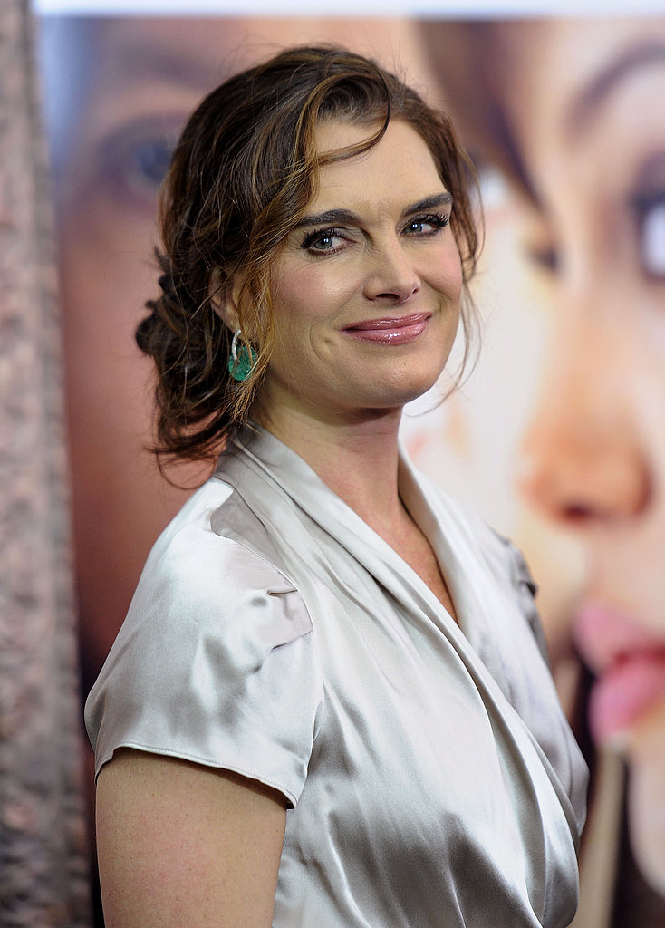 """In 2007, Brooke Shields opened up about postpartum depression, hoping to help other women feel less alone: """"The biological shifts in a woman's body are mentally devastating. There's so many different things that happen, and so many changes, and we are taught that if you don't do this beautifully then you are wrong, you are bad, you are not a good mother, you are not a good woman. Our culture and our society does not support 'defective mothering.'"""""""