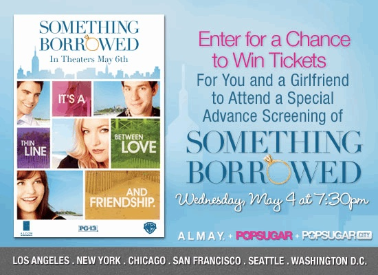 Something Borrowed Ticket Contest