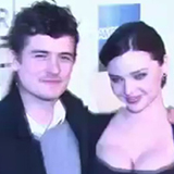 Video: Orlando Bloom and Miranda Kerr at Tribeca Film Festival Premiere of The Good Doctor