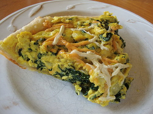Angela's Vegan Quiche