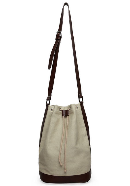 A.P.C. / Canvas Bucket Bag ($235)