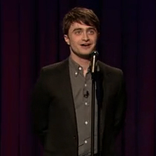 Daniel Radcliffe Stand-Up Comedy on Jimmy Fallon