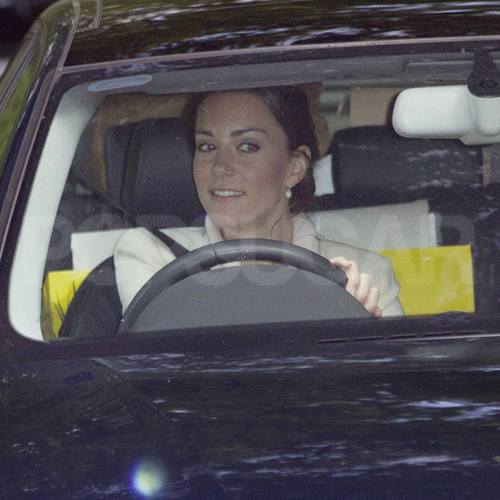 Kate Middleton Pictures in England Before Royal Wedding