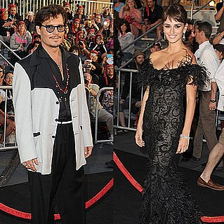 Johnny Depp and Penelope Cruz at the Disneyland Premiere of Pirates of the Caribbean: On Stranger Tides 2011-05-08 09:27:39