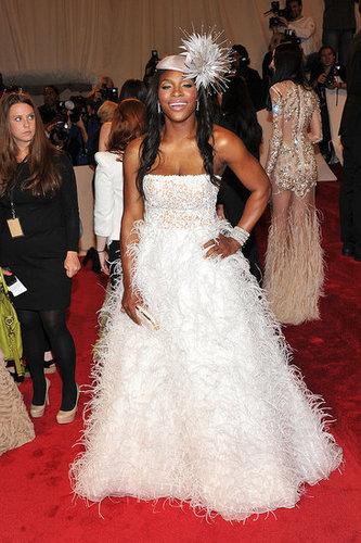 Serena Williams in Oscar de la Renta