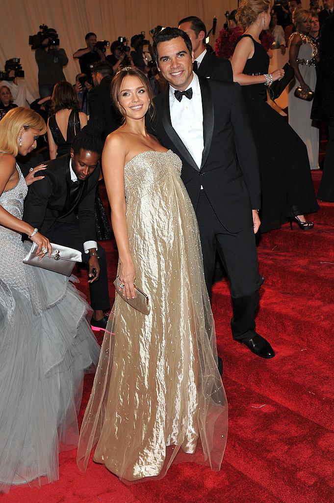Jessica Alba in Ralph Lauren, Cash Warren
