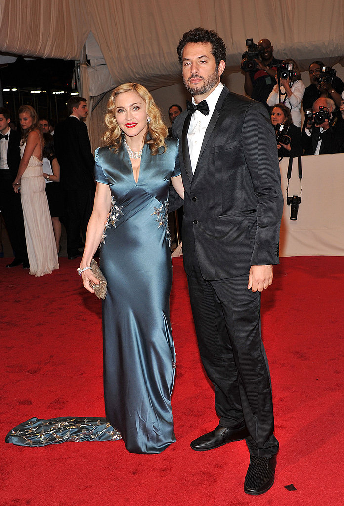 Madonna in Stella McCartney and Guy Oseary