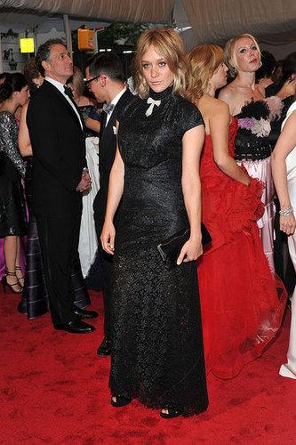 Chloe Sevigny in Alexander McQueen