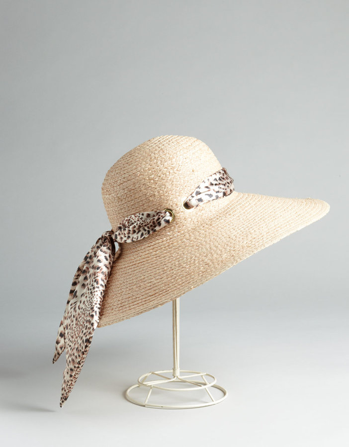 Your mother probably always warned you about staying out of the sun — surprise her with this superchic sun hat, just in time for beach weather. Lord & Taylor Physician EndorsedIncognito Raffia Sun Hat ($72)