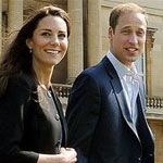 Pictures of Kate Middleton in Blue Zara Dress Post-Wedding Day