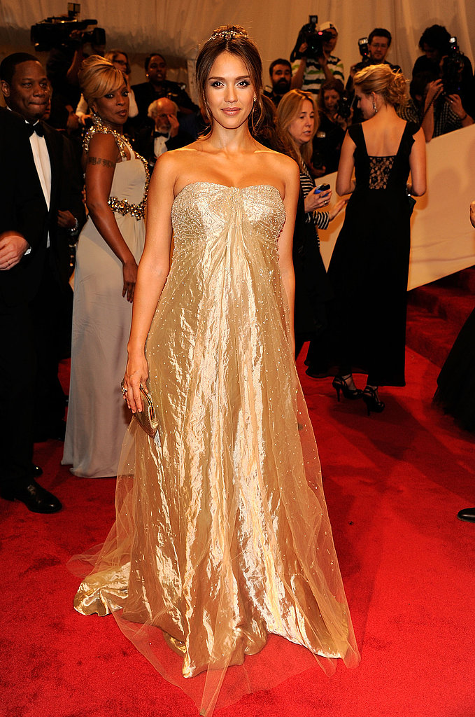Gold Dresses at the 2011 Met Gala