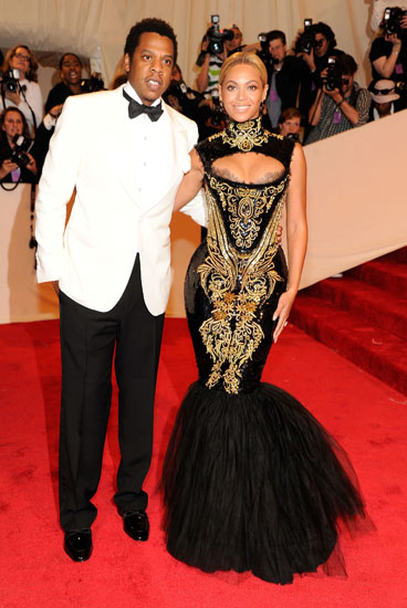 Jay-Z and Beyoncé Knowles
