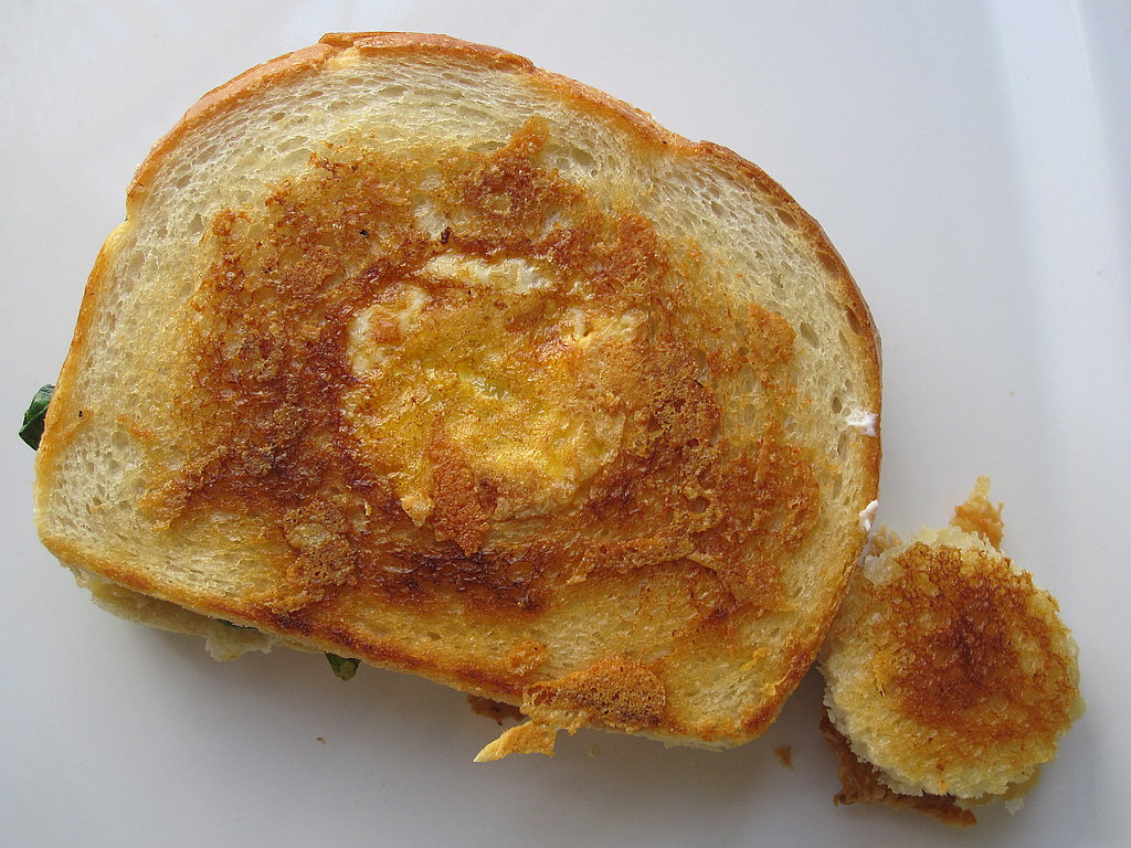 Egg in a Nest Meets the Grilled Cheese