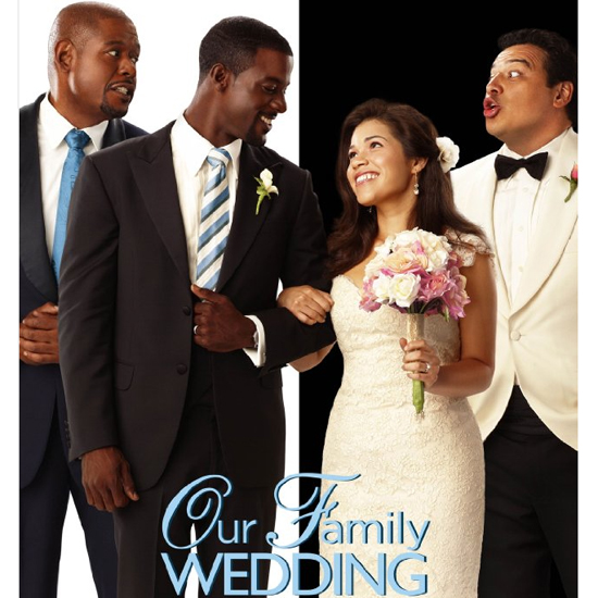 America Ferrera in Our Family Wedding