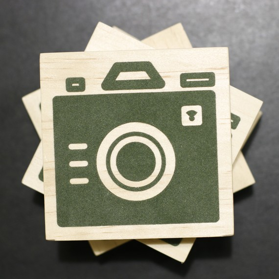 Living Room: Rest Your Glasses on Iconic Camera Coasters