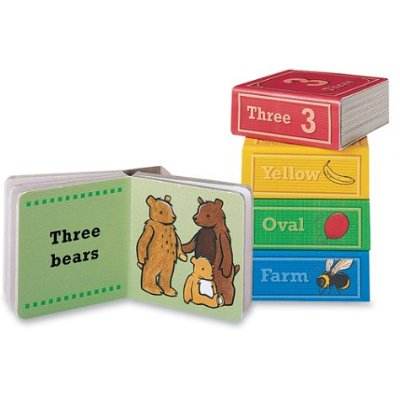 Learning Block Books: Numbers, Colors, Shapes and Animals