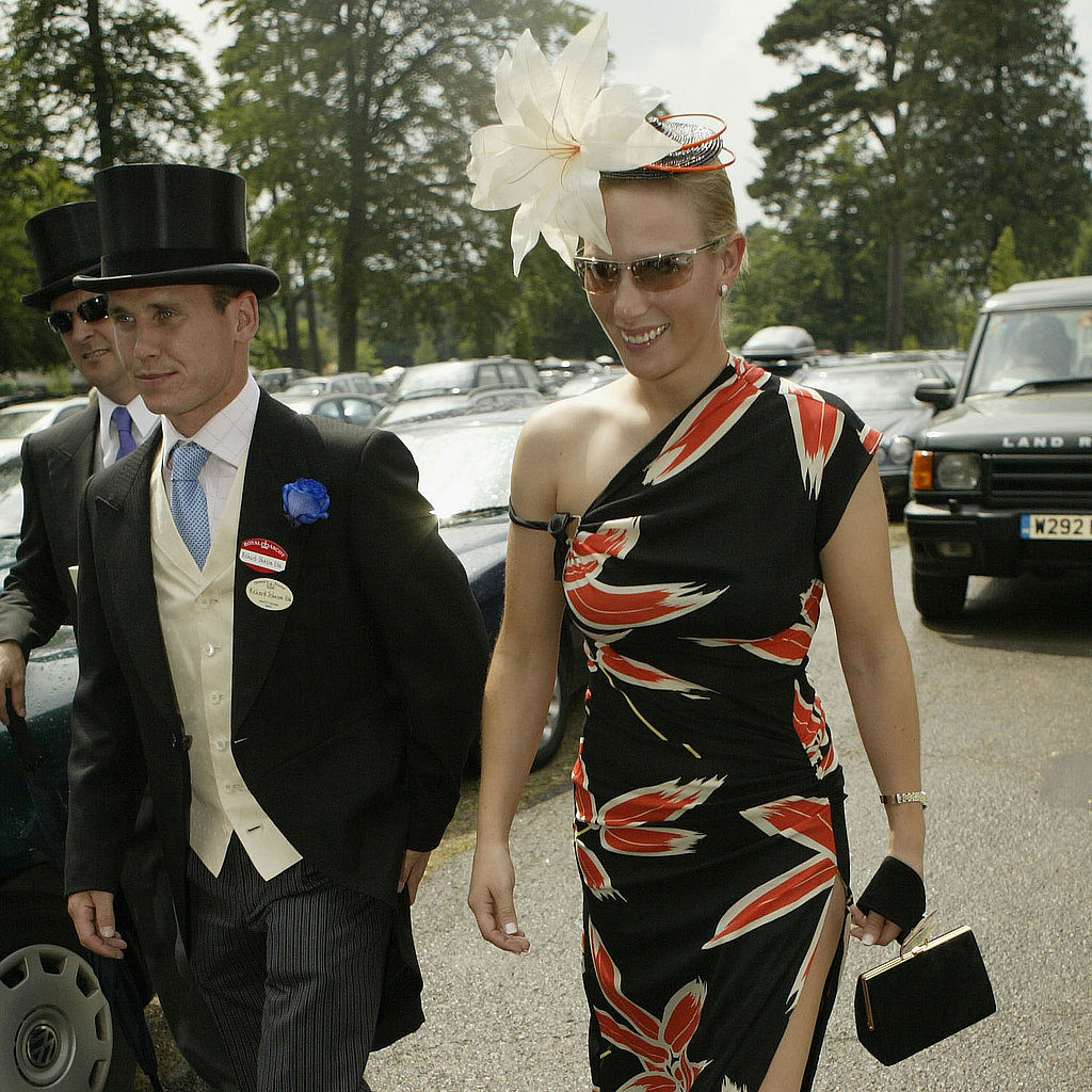 Zara Phillips and her now ex-boyfriend Richard Johnson attended the first day of The Royal Meeting held at Ascot Racecourse in 2003.