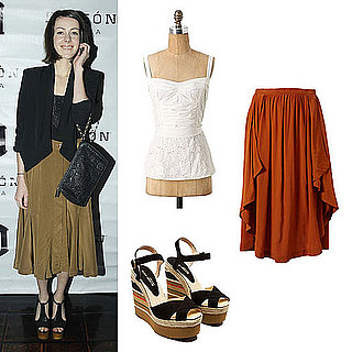 How to Wear a Midi Skirt 2011