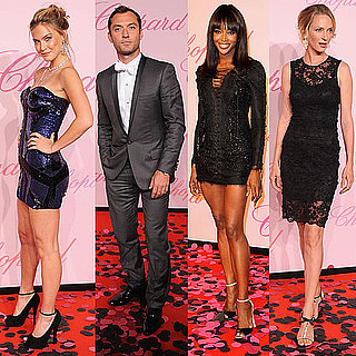Bar Refaeli Photos at a Cannes Party With Jude Law, Naomi Campbell, and Uma Thurman