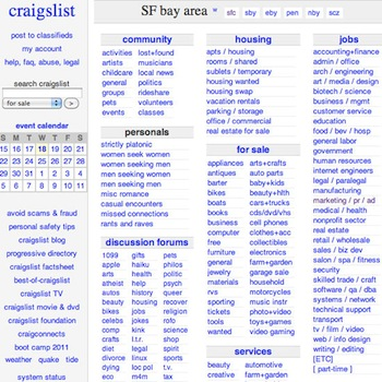 Craigslist Apps and Tools