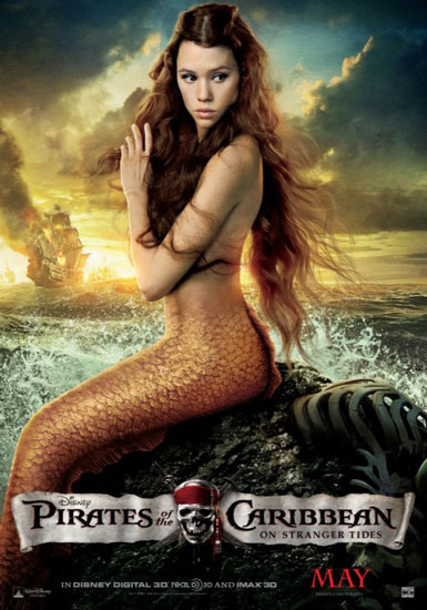 Pirates of the Caribbean 4: How to Get the Sexy Mermaid Makeup Looks