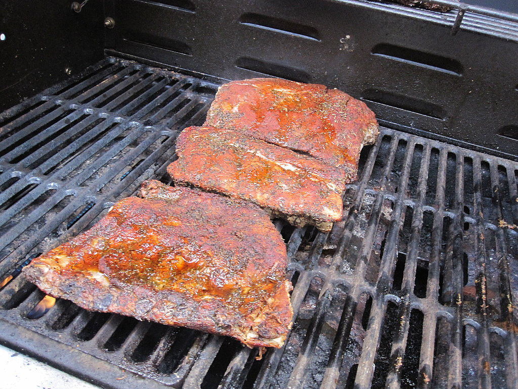 Spice-Rubbed Baby Back Ribs With Cherry-Zinfandel Barbecue Sauce