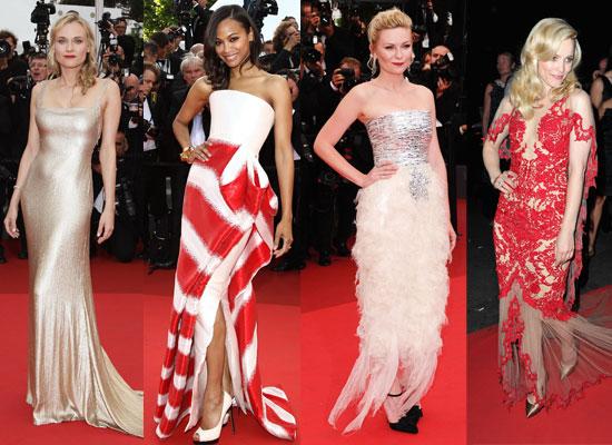 2011 Cannes Film Festival: Best Celebrity Fashion including Kirsten Dunst, Angelina Jolie, Diane Kruger and Bar Refaeli