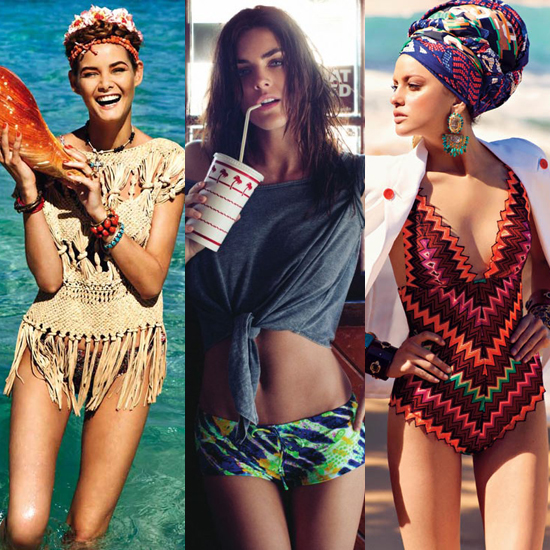 Swimwear Guide 2011: Editorials