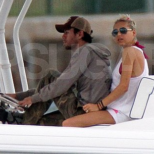 Enrique Iglesias and Anna Kournikova Pictures