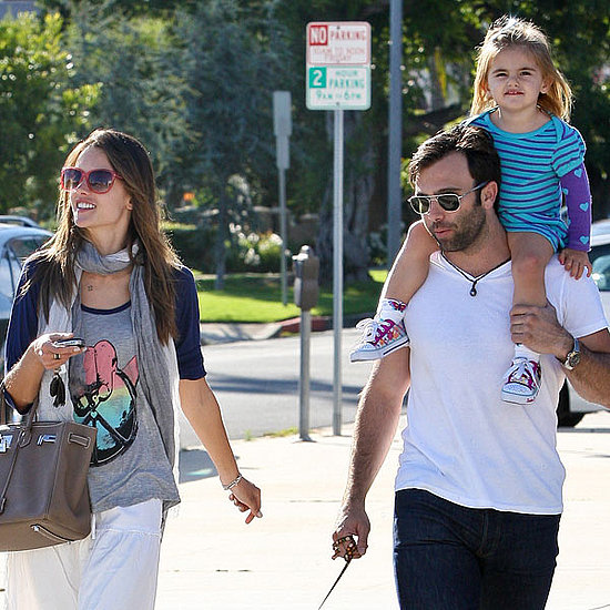 Pictures of Alessandra Ambrosio With Her Family