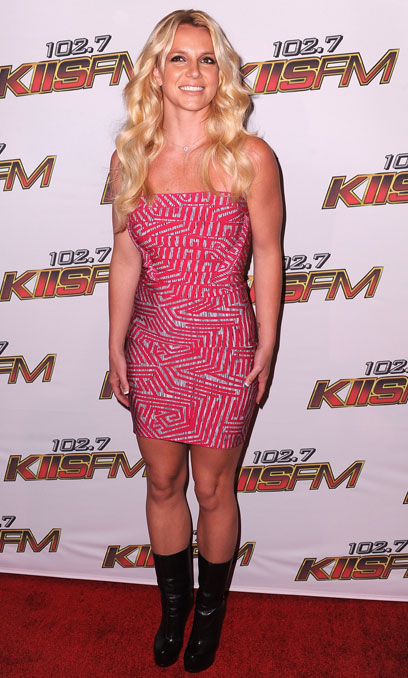 6. Britney Spears