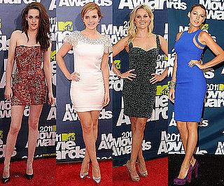 Best-Dressed Celebs at 2011 MTV Movie Awards 2011-06-05 21:00:00