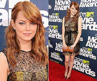 Emma Stone at 2011 MTV Movie Awards 2011-06-05 18:29:20