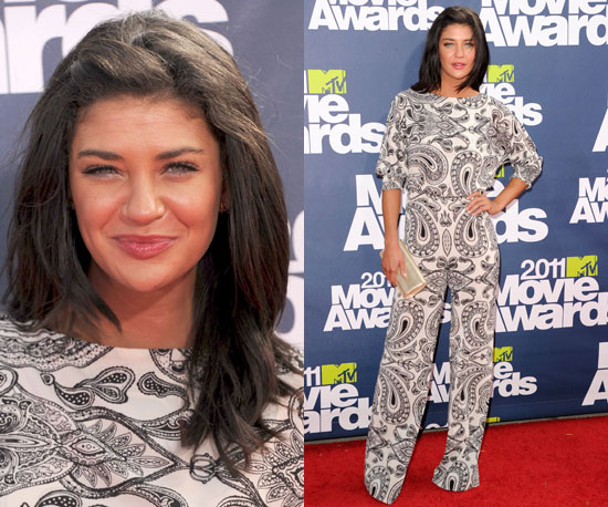 Jessica Szohr at 2011 MTV Movie Awards