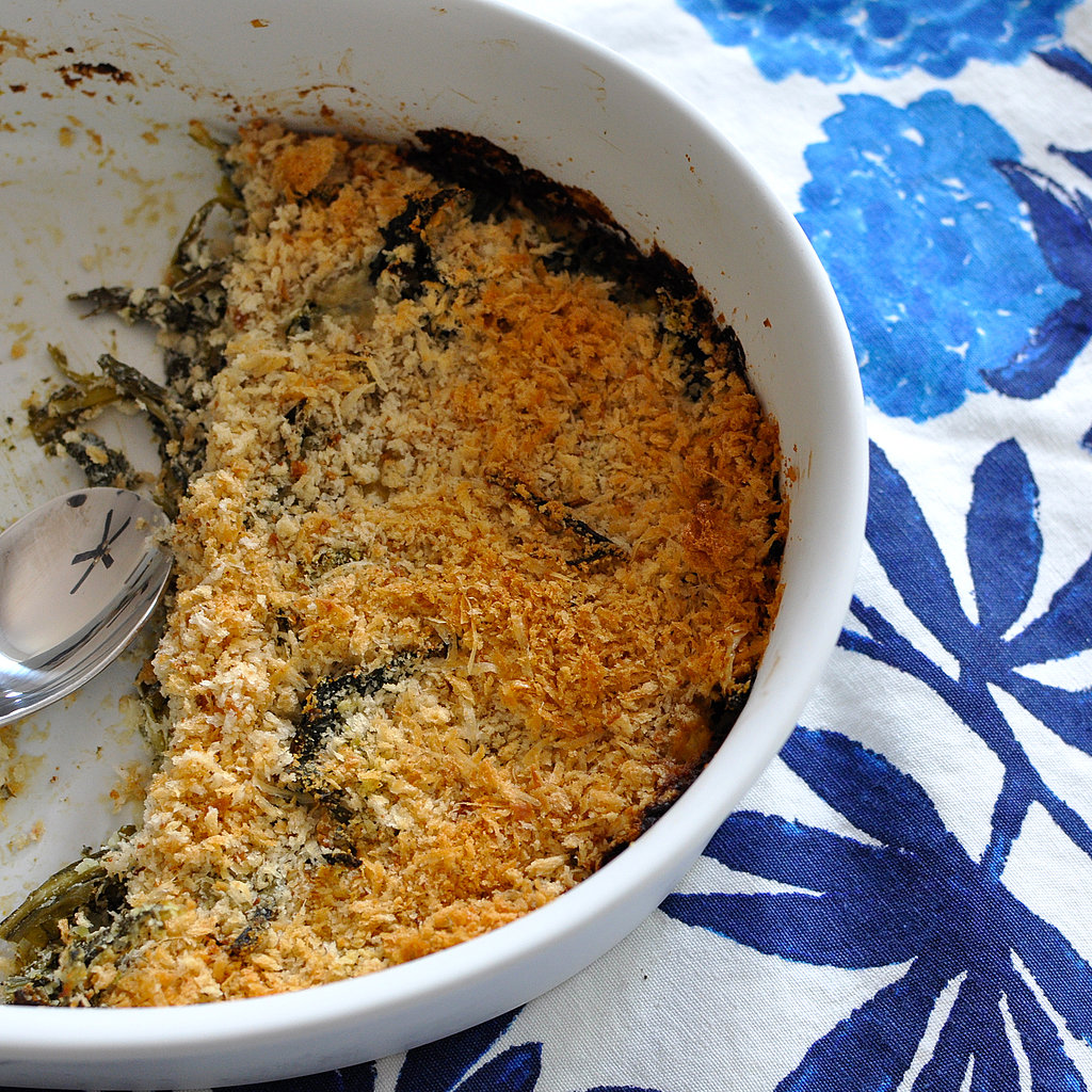 Creamy Dandelion Greens And Goat Cheese Gratin Recipes — Dishmaps